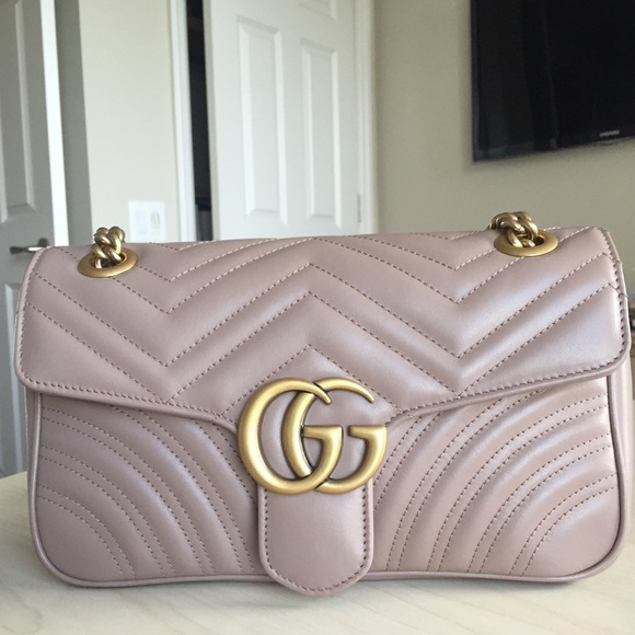 4fa01084ee Gucci Handbags - Gucci Marmont Small matelasse Shoulder bag